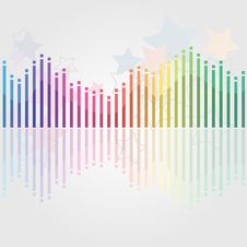 Free Abstract Misic Background Royalty Free Stock Photo - 17351605