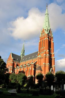 Free Stockholm Cathedral Stock Photography - 17352662
