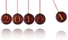 Free Christmas Newton's Cradle Stock Photos - 17352953