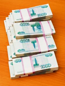 Free Stack Of Paper Money Royalty Free Stock Photography - 17353097