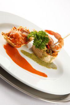 Free Shrimp Dish Stock Photos - 17353623