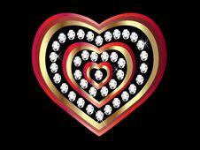 Free Heart Of Love Royalty Free Stock Photo - 17353865