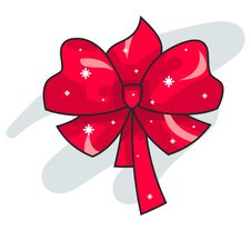 Free Red Bow Stock Photo - 17353910
