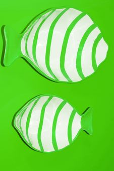 Free Green Fish Royalty Free Stock Photos - 17354198