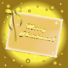 Free Christmas Greeting Card Royalty Free Stock Images - 17354239