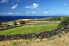 Free Fields On Sao Jorge Island Royalty Free Stock Photography - 17354427