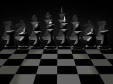 Free Chessmen On Chessboard Stock Photos - 17355303