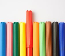 Free Soft-tip Pens Stock Image - 17355921