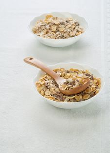 Free Muesli In Bowls Stock Photos - 17356583