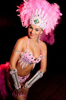 Free Cabaret Dancer Stock Photo - 17356670
