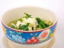 Free Tofu Soup Royalty Free Stock Photos - 17356758