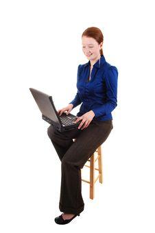 Free Businesswoman. Stock Image - 17356951
