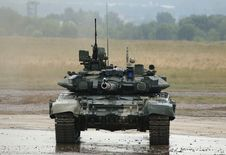 Free T-90 Is A Russian Main Battle Tank Royalty Free Stock Image - 17357116