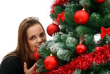 Free Christmas Beauty Stock Photos - 17357353