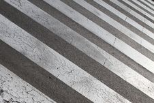 Free Street Crossing (zebra) Royalty Free Stock Images - 17357679