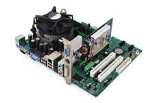 Free Motherboard Royalty Free Stock Photos - 17357878