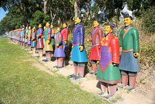 Free Terracotta Warriors From China Stock Photo - 17358350