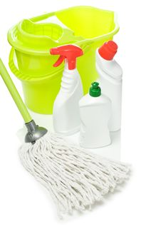 Free Cleaning Tools Stock Photo - 17358880