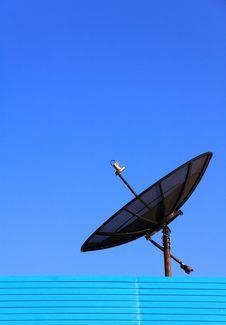 Satellite TV Royalty Free Stock Photography