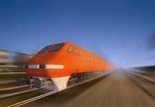 Free The Locomotive Royalty Free Stock Photo - 17359265