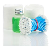 Free Composition Of Cleaning Accesories Stock Image - 17359371