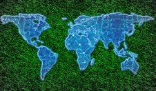 Free Eco-friendly World Map Stock Photo - 17359600