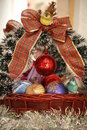Free Christmas Basket 2 Stock Image - 17360951