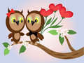 Free Two Owls Royalty Free Stock Photo - 17362575