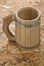 Free Wooden Mug Stock Image - 17369771