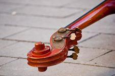 Free Violin Fingerboard Royalty Free Stock Photos - 17360158