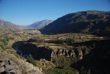 Free Colca Canyon Of Peru Stock Image - 17360171