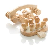 Free Wooden Massagers For Healthcare Royalty Free Stock Photo - 17360215