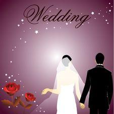 Romantic Wedding Stock Images