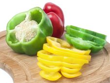 Free Colorful Bell Peppers Stock Photos - 17360893