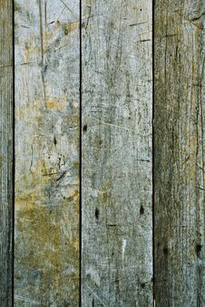 Texture Of Gray Boards Royalty Free Stock Photo
