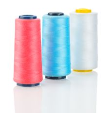 Free White Red And Blue Thread Royalty Free Stock Photography - 17361537