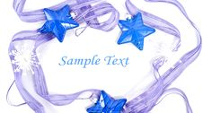 Free Collection Of Blue Decorations Royalty Free Stock Photos - 17362168