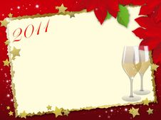Free 2011 New Year Card Stock Photo - 17362200