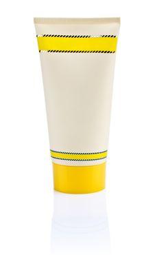 Free Single Yellow Tube Royalty Free Stock Images - 17362449