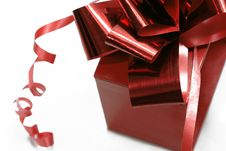 Free Red Gift Box Royalty Free Stock Images - 17363999