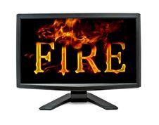 Free Monitor Stock Photo - 17364870