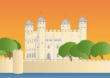 Free Tower Of London At Sundown Royalty Free Stock Photo - 17365025