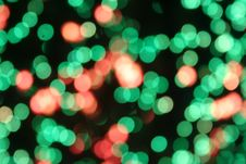 Free Green Sparkling Lights Royalty Free Stock Photography - 17365537