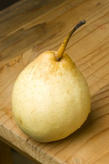 Fresh Organic Pear Stock Image