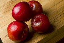 Cherry Plums And Nectarines Royalty Free Stock Images