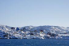 Free Village Of Illimanaq, West Greenland Stock Photo - 17365910