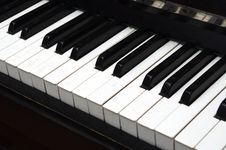 Free Piano Key Close Up Shot Royalty Free Stock Photography - 17366097