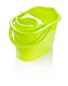 Free Yellow Bucket Isolated Stock Photos - 17366193