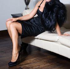 Free Retro Woman Stock Photo - 17366320