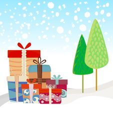 Free New Year Gifts Stock Photo - 17367020